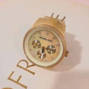 Michael Kors MK5039 Women's Ritz Horn Watch